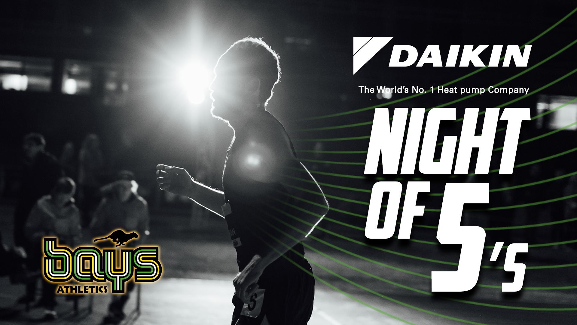 Daikin Night of 5s